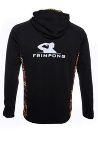 FRIMPONG FULL - ZIP UP HOODIE JACKET - WOMEN - BLACK