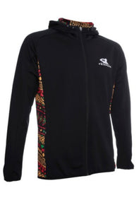 FRIMPONG FULL - ZIP UP HOODIE JACKET - MEN - BLACK