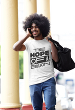 Load image into Gallery viewer, HOPE OF A BILLION TEE WB - MEN - WHITE