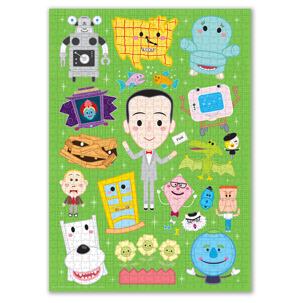 Pee-wee's Playhouse Variant Comic Con Edition Jigsaw Puzzle - 1 available