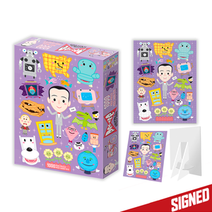 Pee-wee's Playhouse SIGNED 1000 pc Jigsaw Puzzle