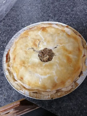 Frozen All Beef Meat Pie 9""