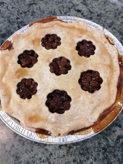 Frozen Raisin Pie