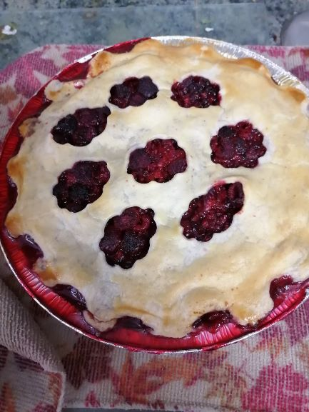 Frozen Raspberry Pie 9""