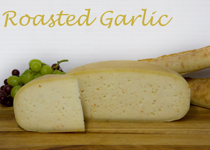 Vasey Sheep Cheese Roasted Garlic and Sweet Red Pepper 200g