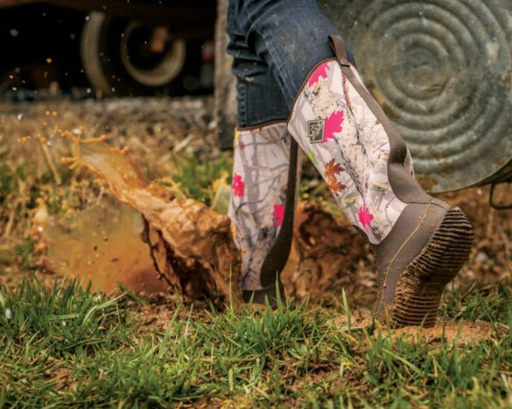 Hotleaf Camouflage Muck Boots Available at Cabela's