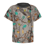 Little Girls Hotleaf Teal T-Shirt