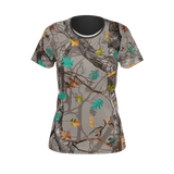 Hotleaf Teal Womens T-Shirt