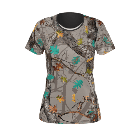 Womens Hotleaf Teal T-Shirt