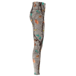 Womens Hotleaf Teal Yoga Pants