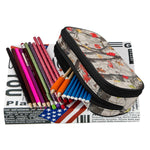 NEW Orion Two Compartment Pencil Case