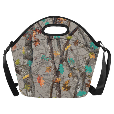 Hotleaf Teal Neoprene Lunch Bag