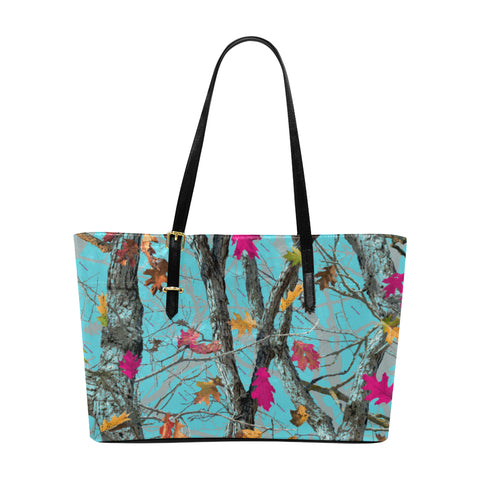 Hotleaf Sky Leather Tote Bag