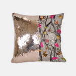 Reversible Sequin Hotleaf Camouflage Pillow Case