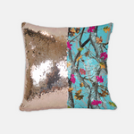 Reversible Sequin Hotleaf Sky™ Pillow Case