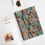 Hotleaf Teal Spiral Notebook - Ruled Line