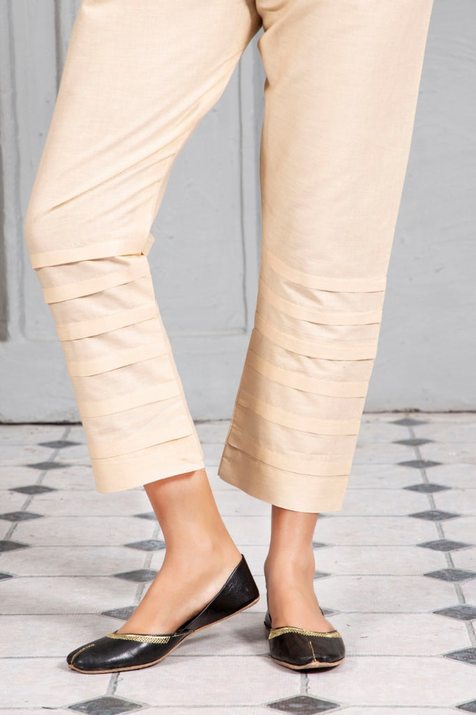 Plated Trouser