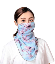 Load image into Gallery viewer, Chiffon Scarf face mask