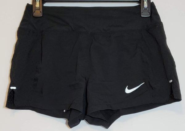 Pre-Owned NIKE Running XS Women's Shorts Black