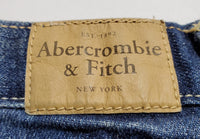 Pre-Owned Abercrombie & Fitch Jean Shorts Distressed Cut Off Size 4