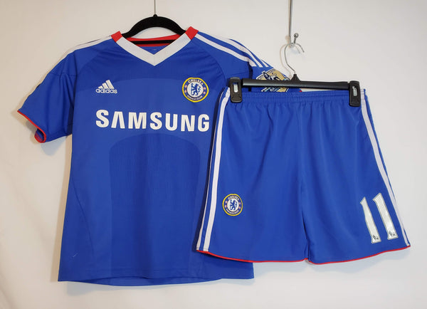 Pre-Owned ADIDAS DROGBA Chelsea Football Club Jersey Youth Size 14