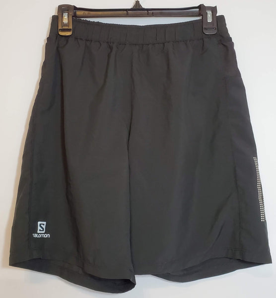 Pre-Owned Salomon Mens Shorts Size Small Black