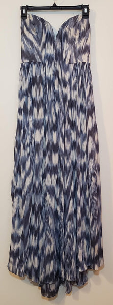 Pre-owned Kimchi Blue Long Dress Halter Deep Vneck Small/Medium