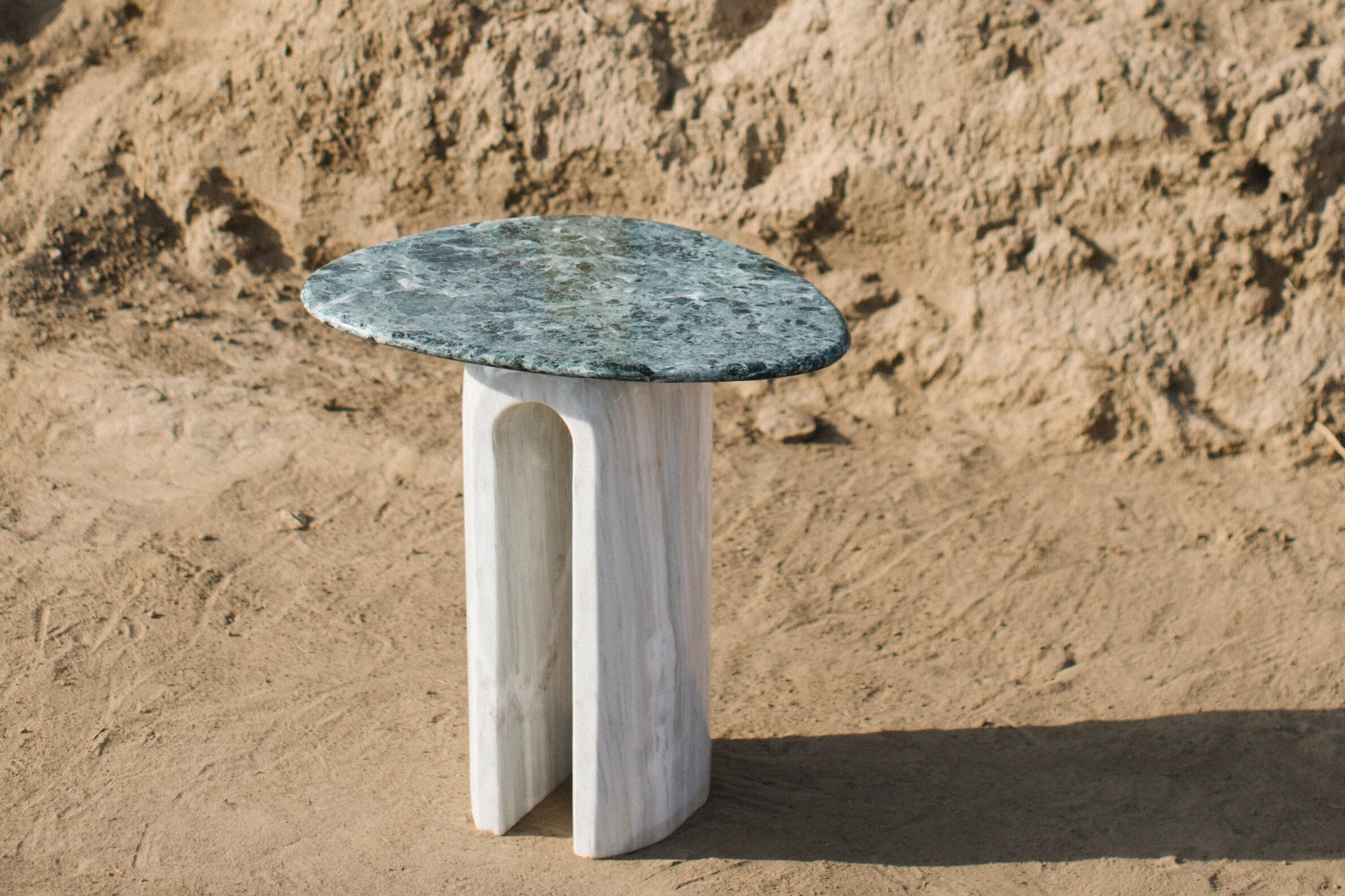 Marble Side Table (high)