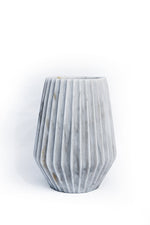 Load image into Gallery viewer, Duna Marble Vase White