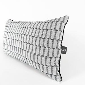 Cushion |Jacquard Block Black
