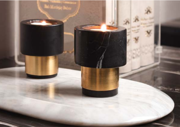 VELAS candle set (BLACK)