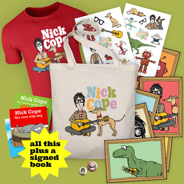Exclusive Nick Cope tote bag bundle