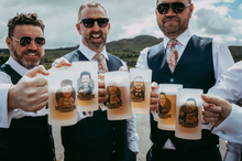 Load image into Gallery viewer, groomsmen beer mugs
