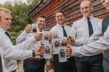 Load image into Gallery viewer, personalized groomsmen beer mugs