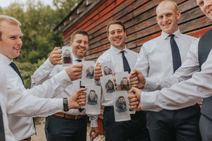 personalized groomsmen beer mugs