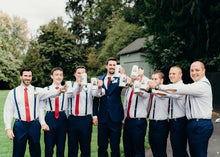 Load image into Gallery viewer, personalized beer steins for groomsmen