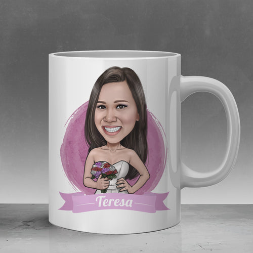 bridesmaid mug gift