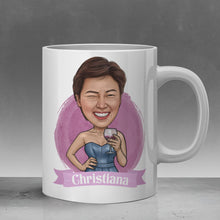 Load image into Gallery viewer, christiana bridesmaid coffee mug