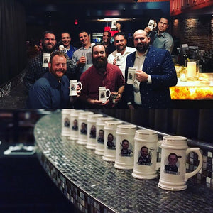 personalized groomsmen steins