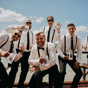 beer stein groomsmen gifts