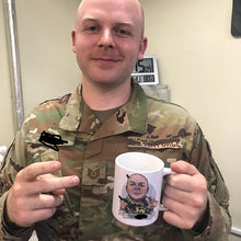 Load image into Gallery viewer, soldier coffee mug gift