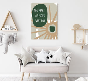 Kids Inspirational Wall Art