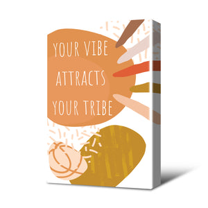 Your Vibe Canvas Print Neutral