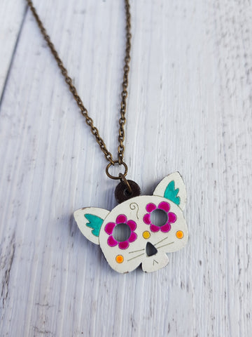 Cat Skull necklace