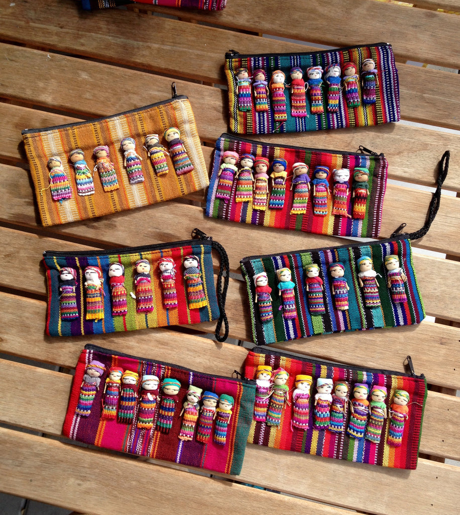 Worry Dolls Pencil Case
