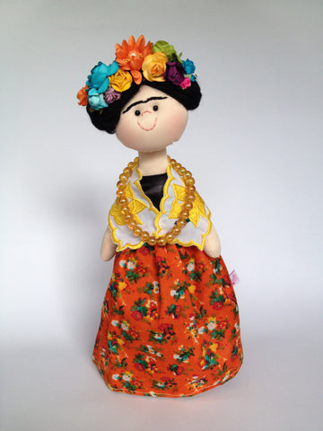 Frida Kahlo Doll Corazon