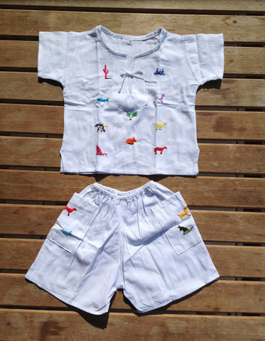 Boy's Shirt + Shorts