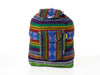 Classic Mexican backpack (Large/Blue)