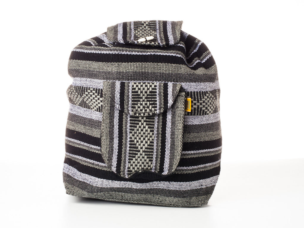 Classic Mexican backpack (Large/Gray)