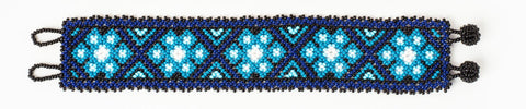 "Beaded bracelet ""Siete Puntos""  (Long)"
